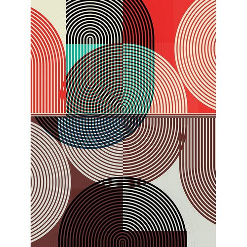 Graphic Colorful Shapes II