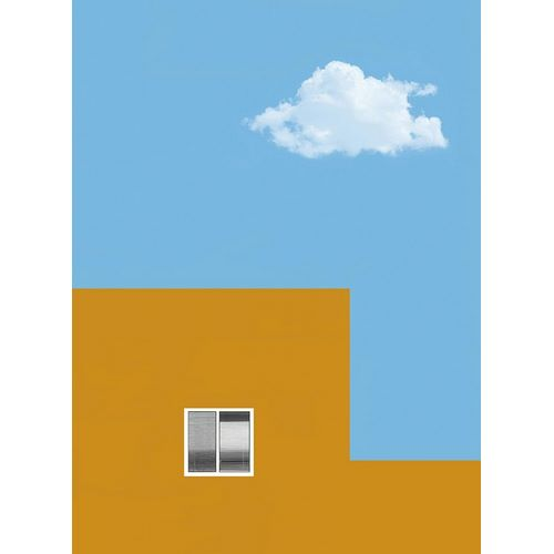 House and cloud