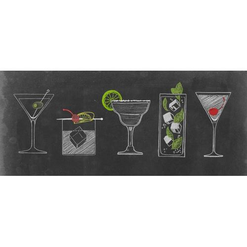 Chalkboard Cocktails Collection G