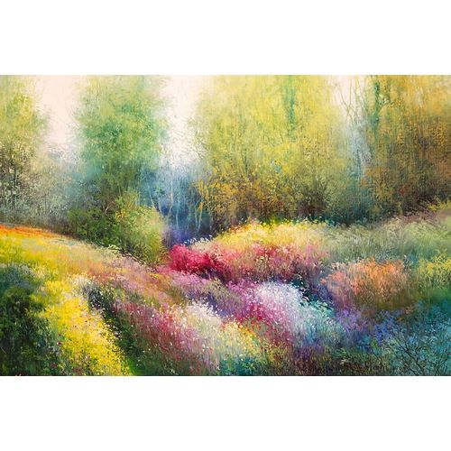 Spring Meadow with Flowers