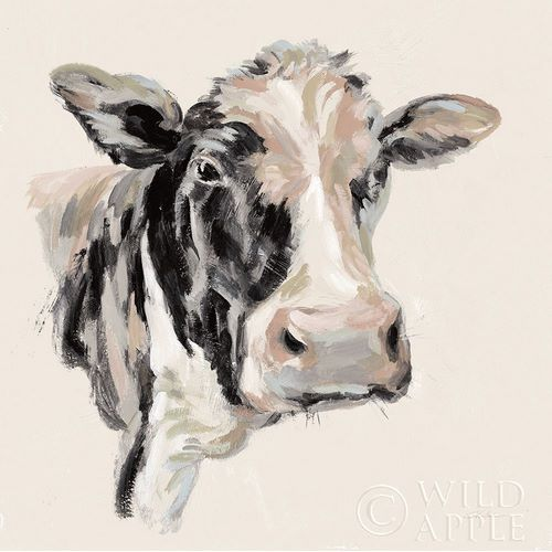 Expressionistic Cow I Neutral